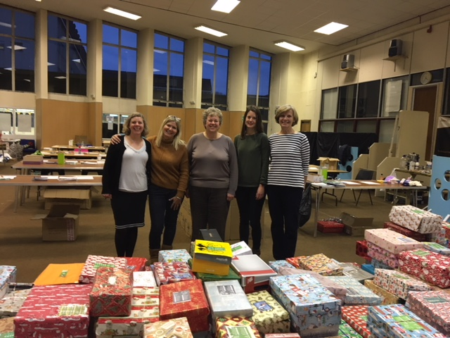 Christmas boxes, The Trussell Trust